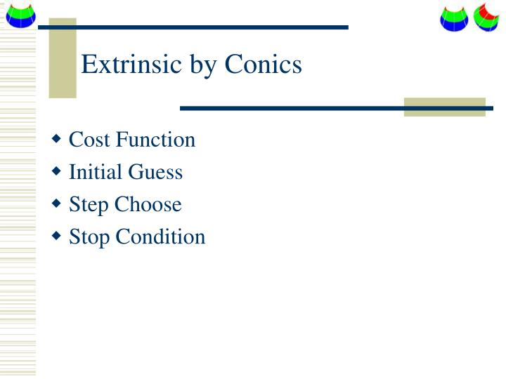 Extrinsic by Conics