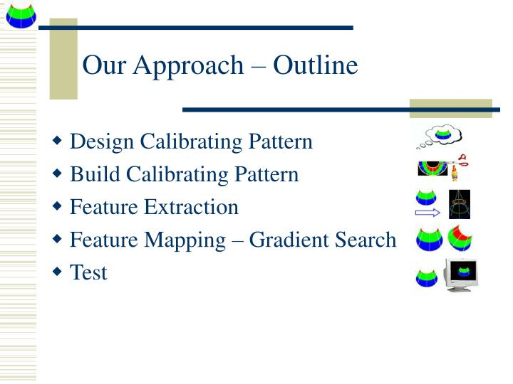 Our Approach – Outline