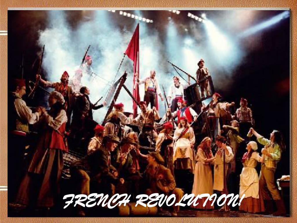FRENCH REVOLUTION!