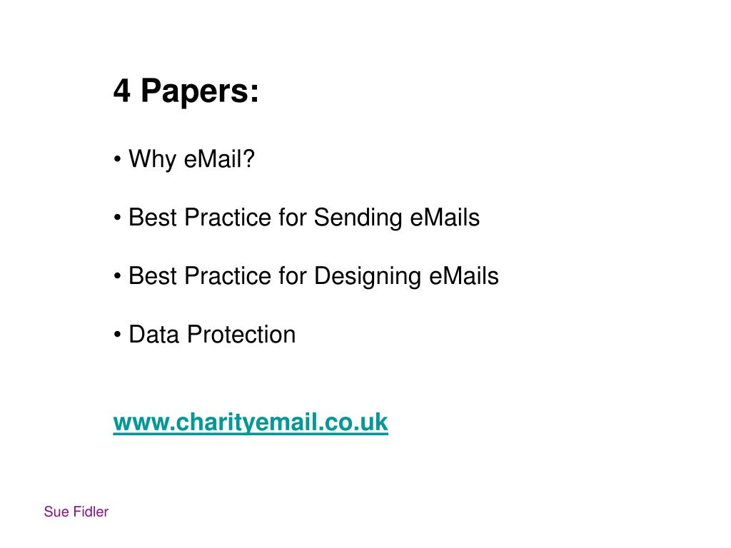 4 Papers: