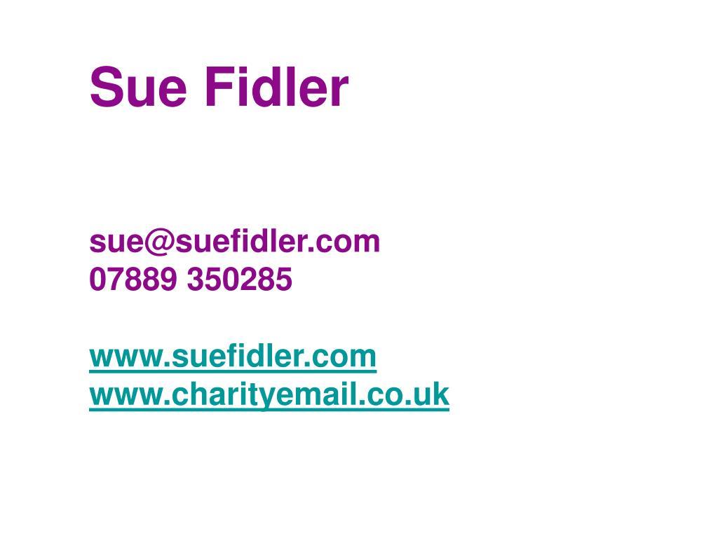 Sue Fidler