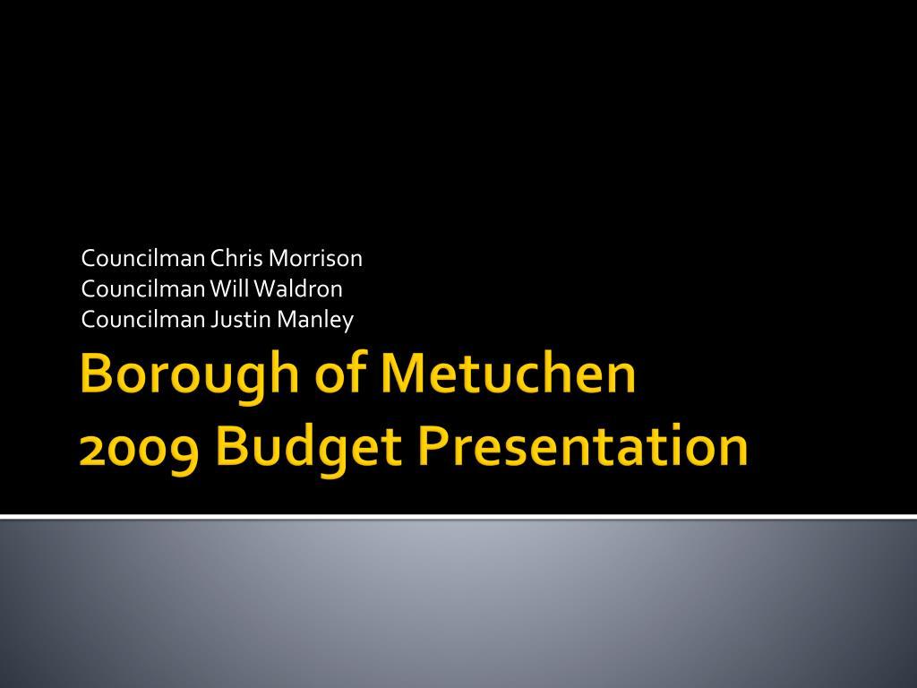 Councilman Chris Morrison