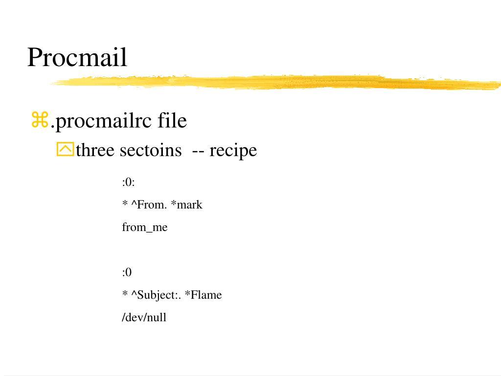 Procmail