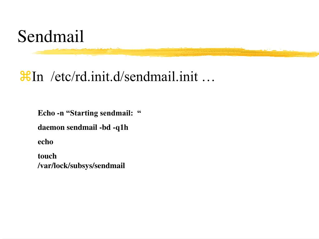 Sendmail