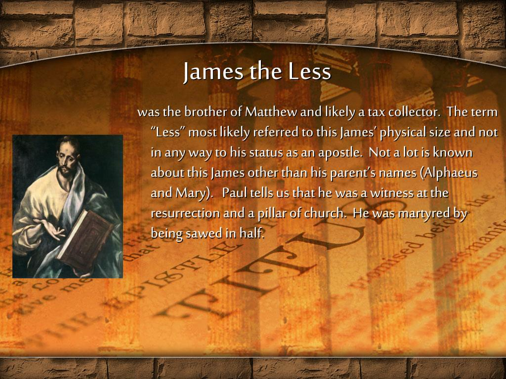 James the Less