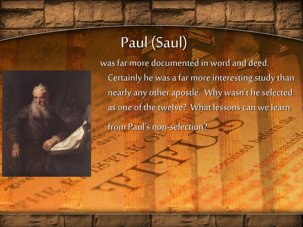 Paul (Saul)