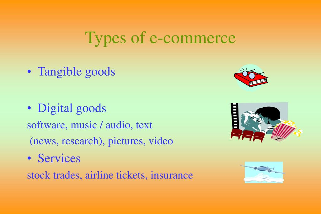 Types of e-commerce