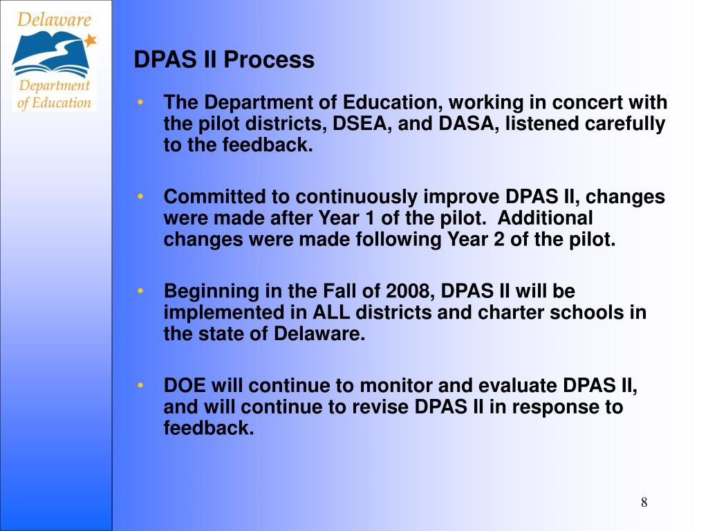 DPAS II Process