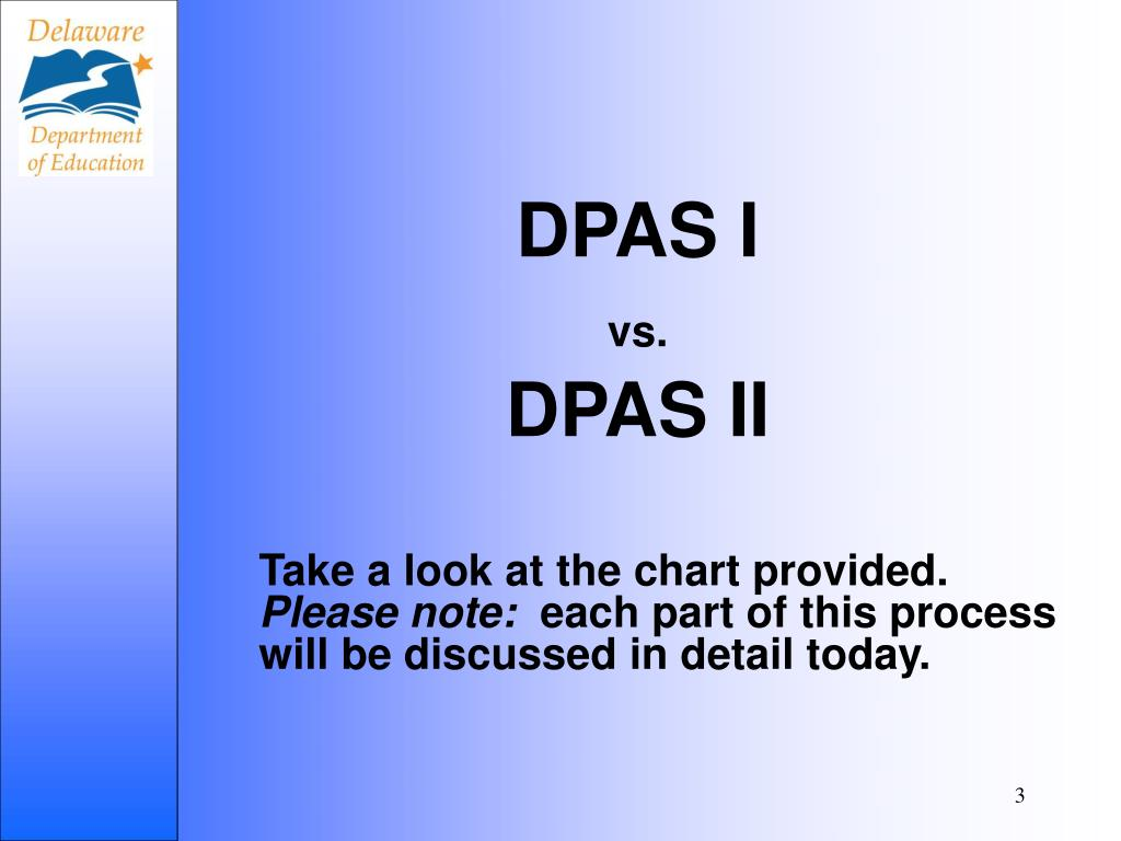DPAS I