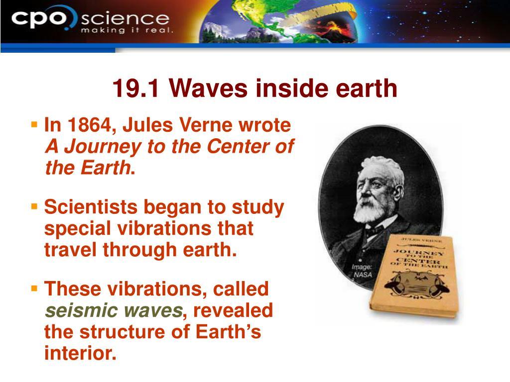 19.1 Waves inside earth