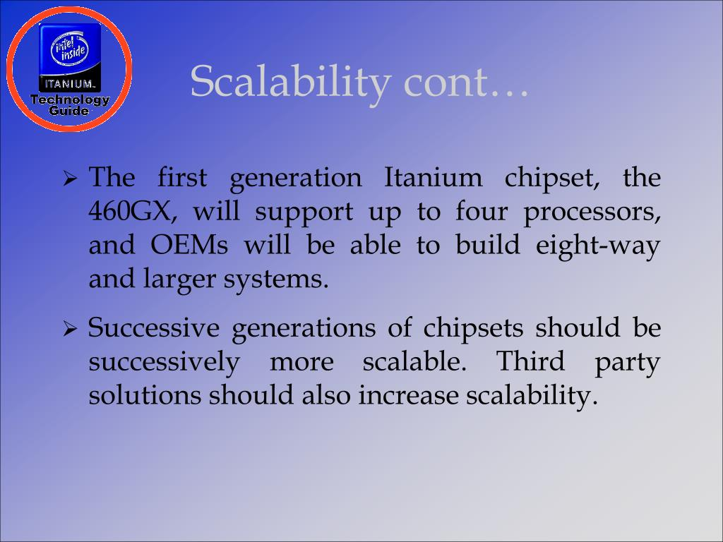 Scalability cont…