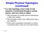 simple physical topologies continued7