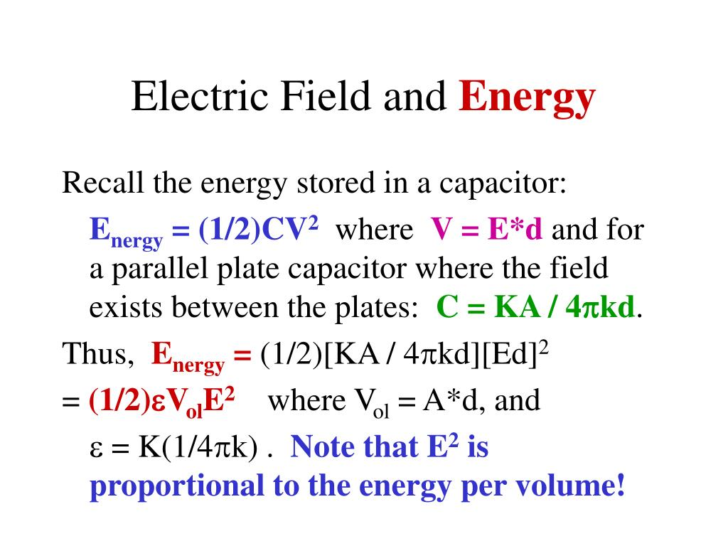 Electric Field and