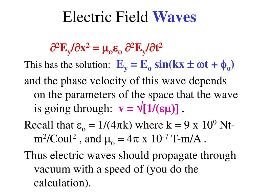 Electric Field