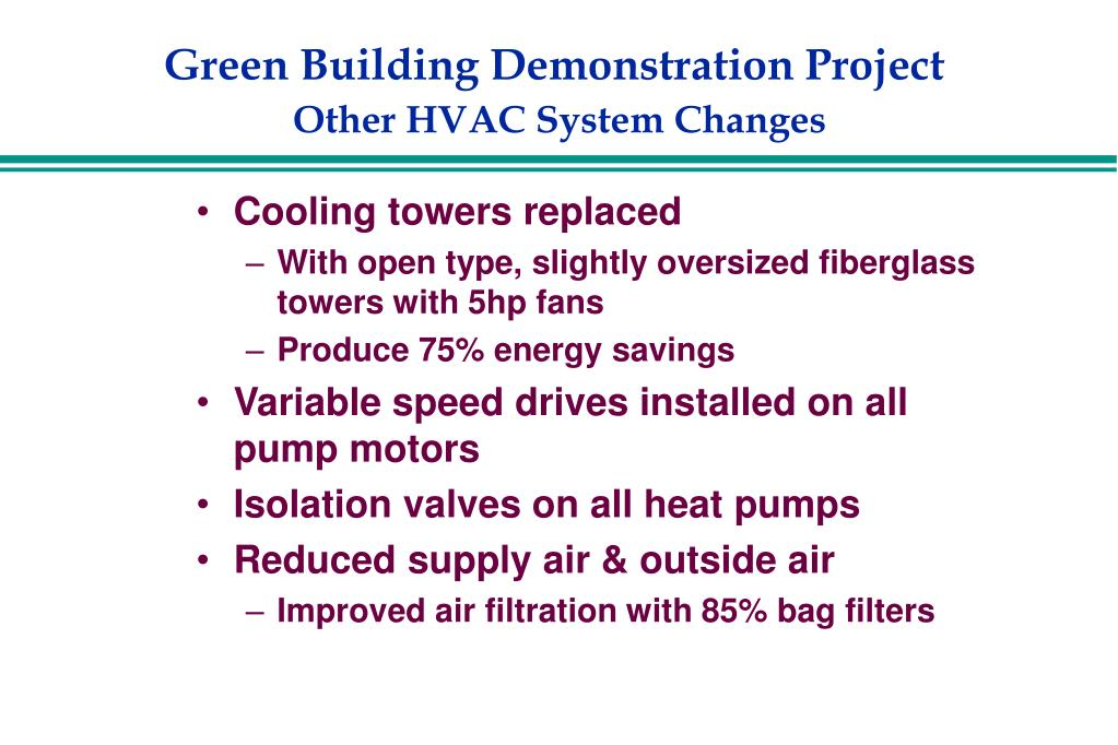 Green Building Demonstration Project