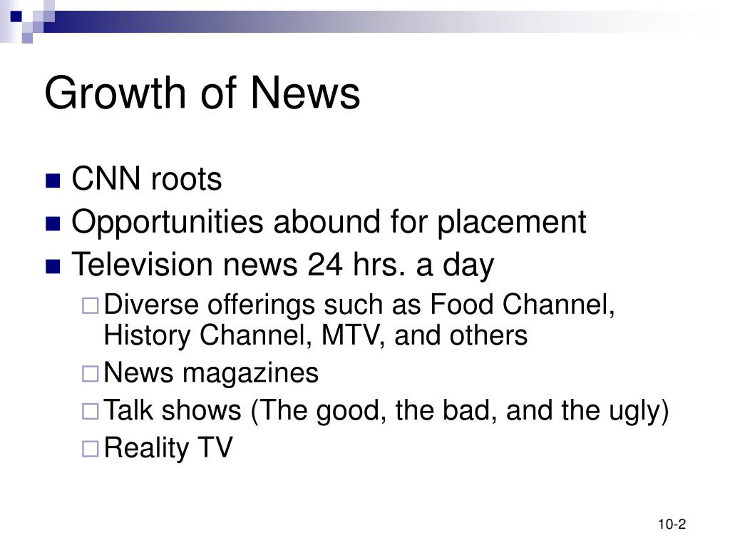 Growth of News
