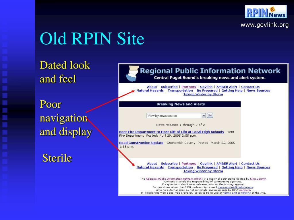 Old RPIN Site