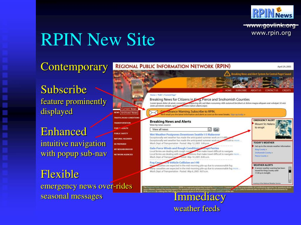 RPIN New Site