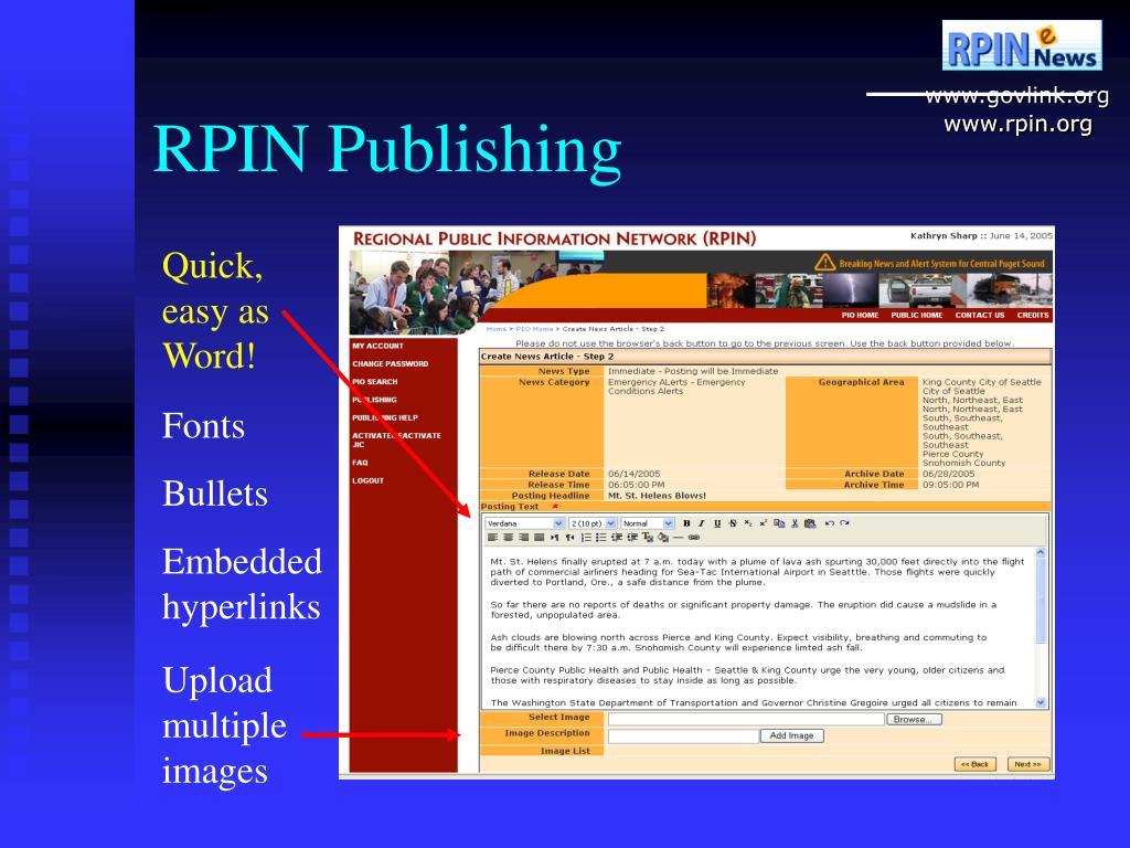 RPIN Publishing