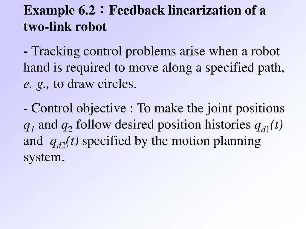 feedback linearization thesis