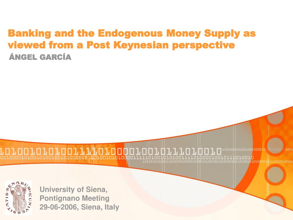 Banking and the Endogenous Money Supply as viewed from a Post Keynesian perspective