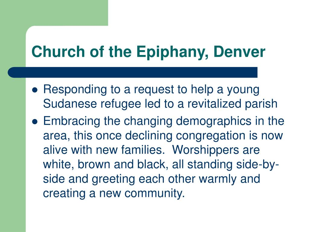 Church of the Epiphany, Denver
