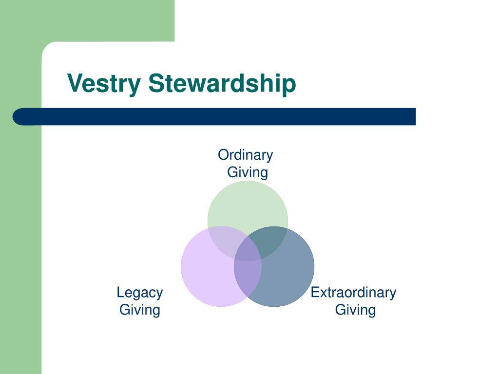 Vestry Stewardship