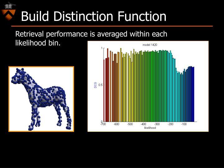 Build Distinction Function