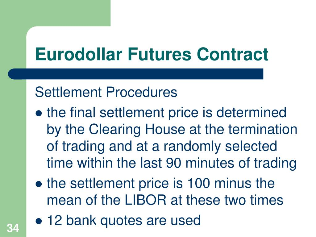 Eurodollar Futures Contract