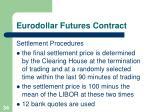 eurodollar futures contract34