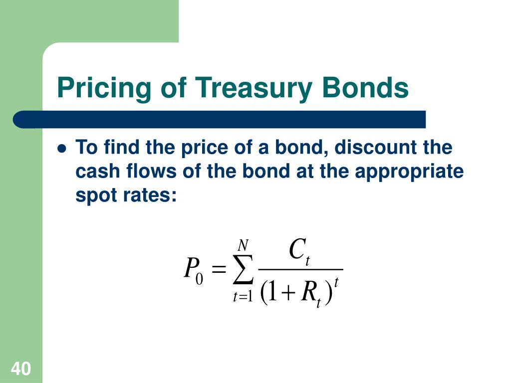 Pricing of Treasury Bonds