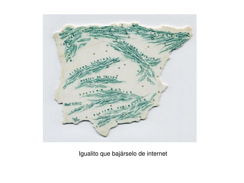 Igualito que bajárselo de internet