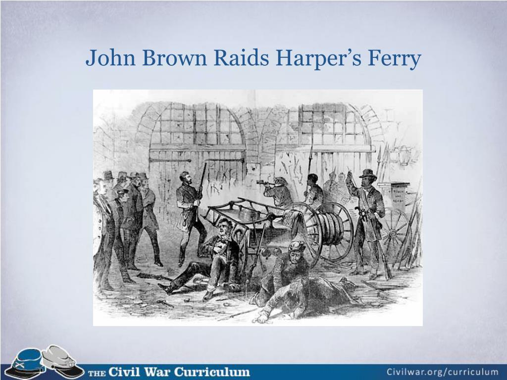 John Brown Raids Harper's Ferry