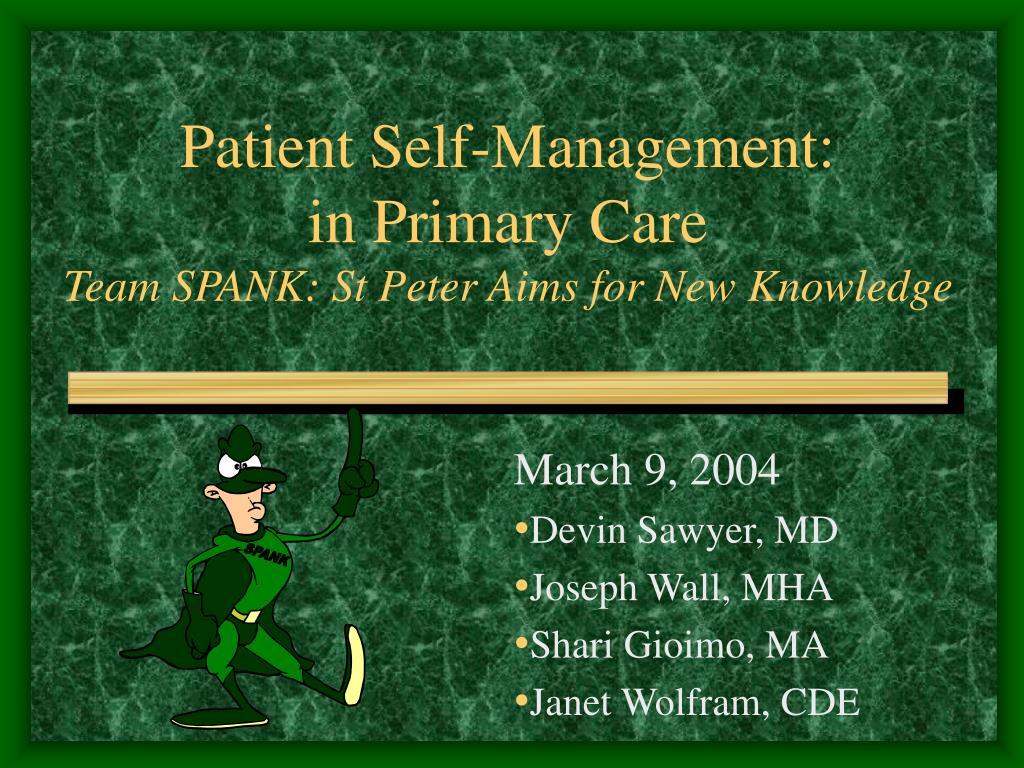 Patient Self-Management: