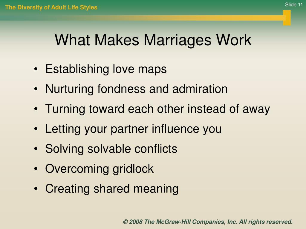 Establishing love maps