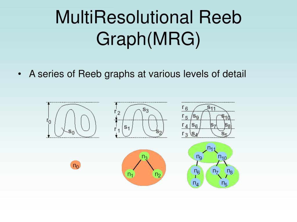 MultiResolutional Reeb Graph(MRG)