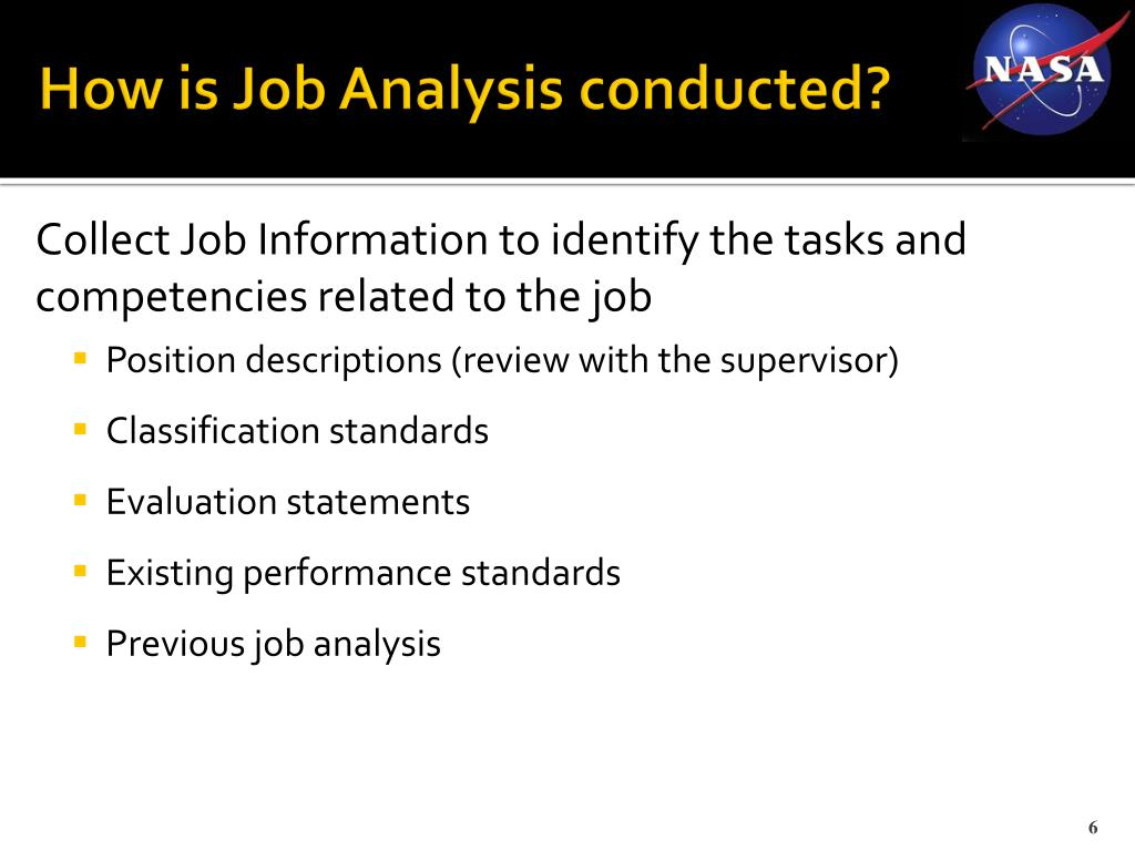 How is Job Analysis conducted?