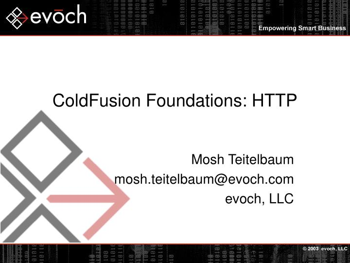 Coldfusion foundations http l.jpg