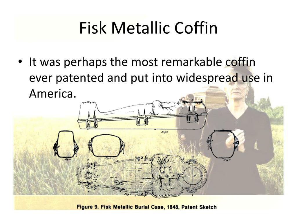 Fisk Metallic Coffin