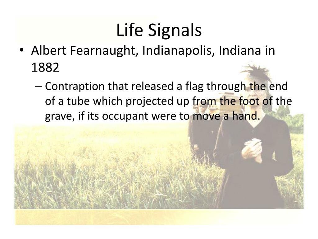 Life Signals