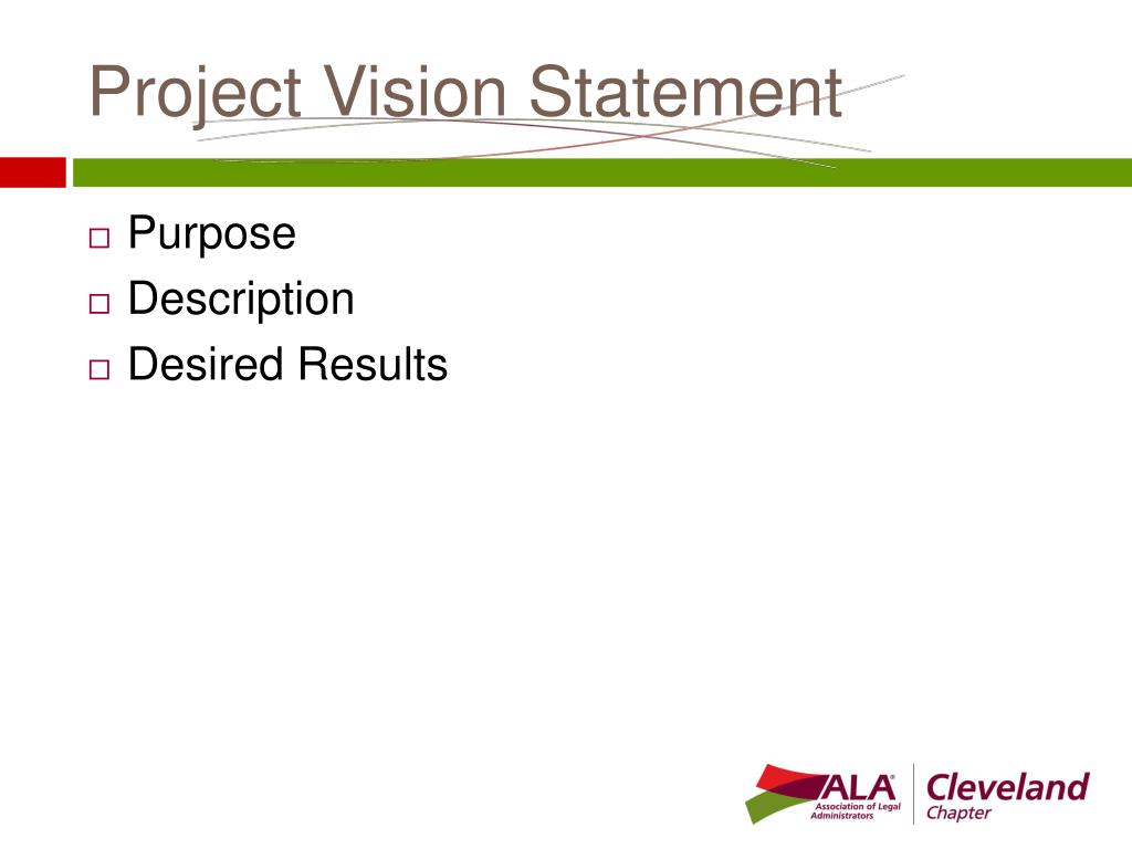 Project Vision Statement