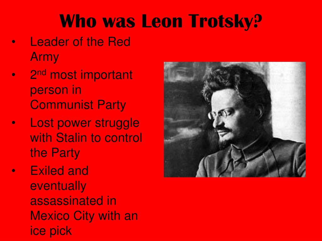 Who was Leon Trotsky?