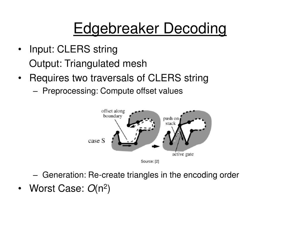 Edgebreaker Decoding