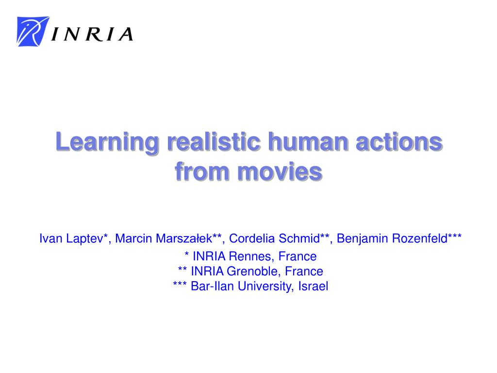 Learning realistic human actions