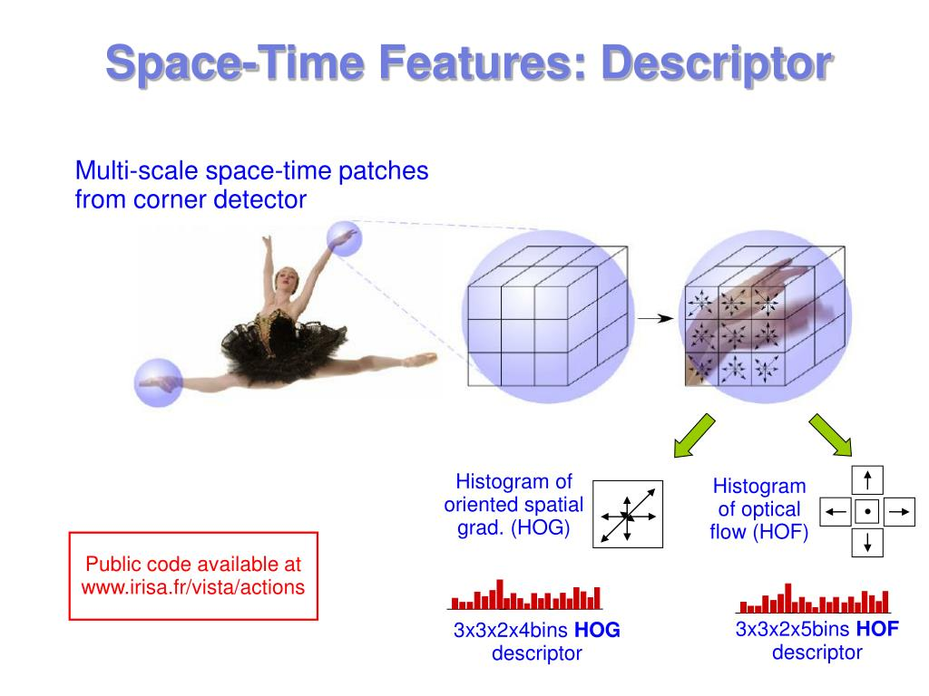 Space-Time Features: Descriptor