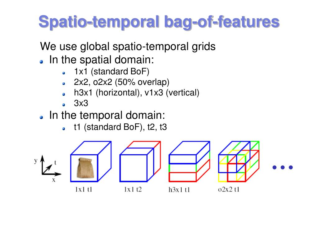 Spatio-temporal bag-of-features