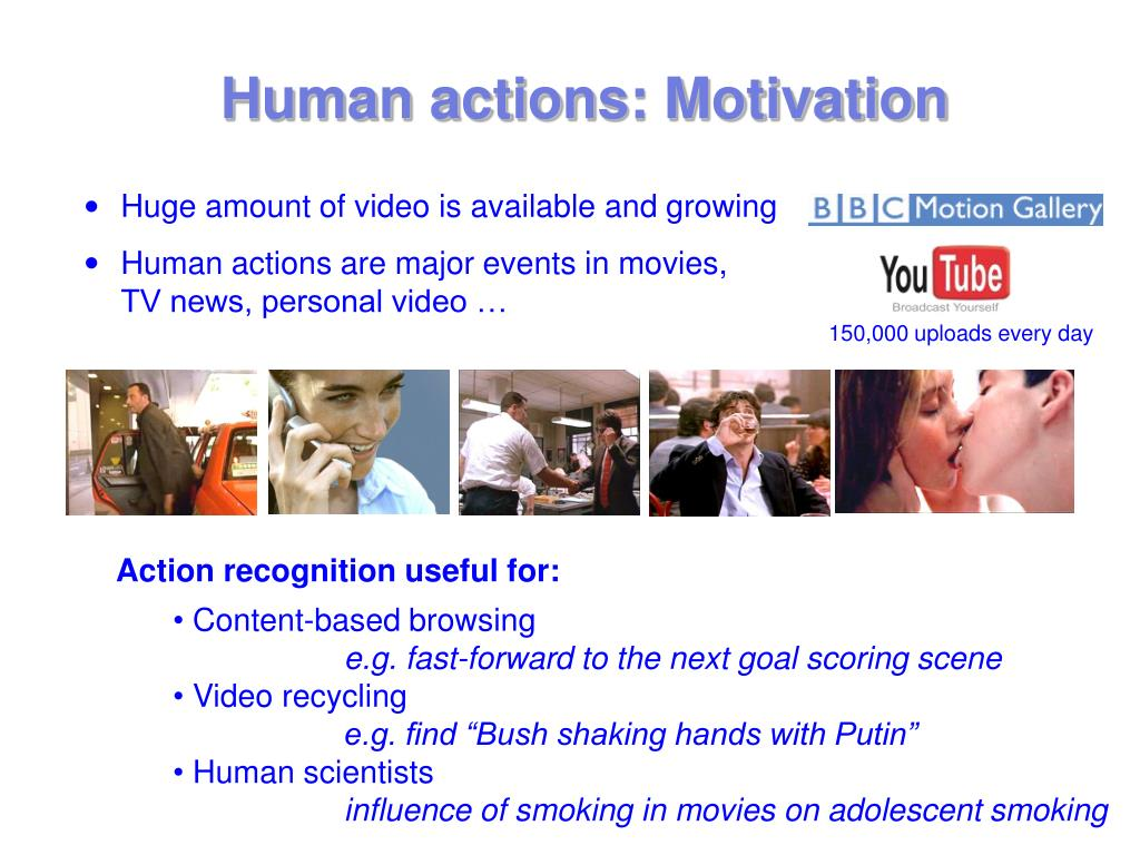 Human actions: Motivation