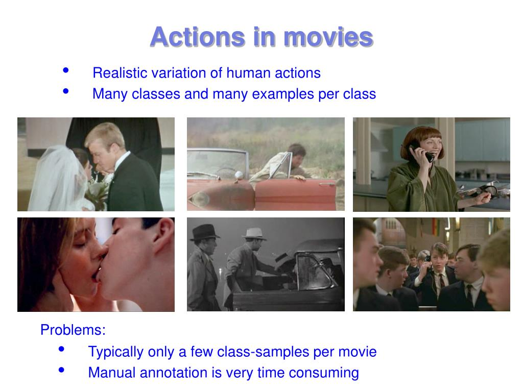 Actions in movies
