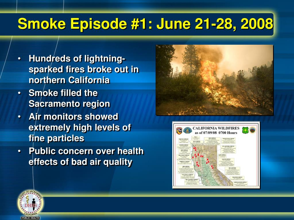 Smoke Episode #1: June 21-28, 2008