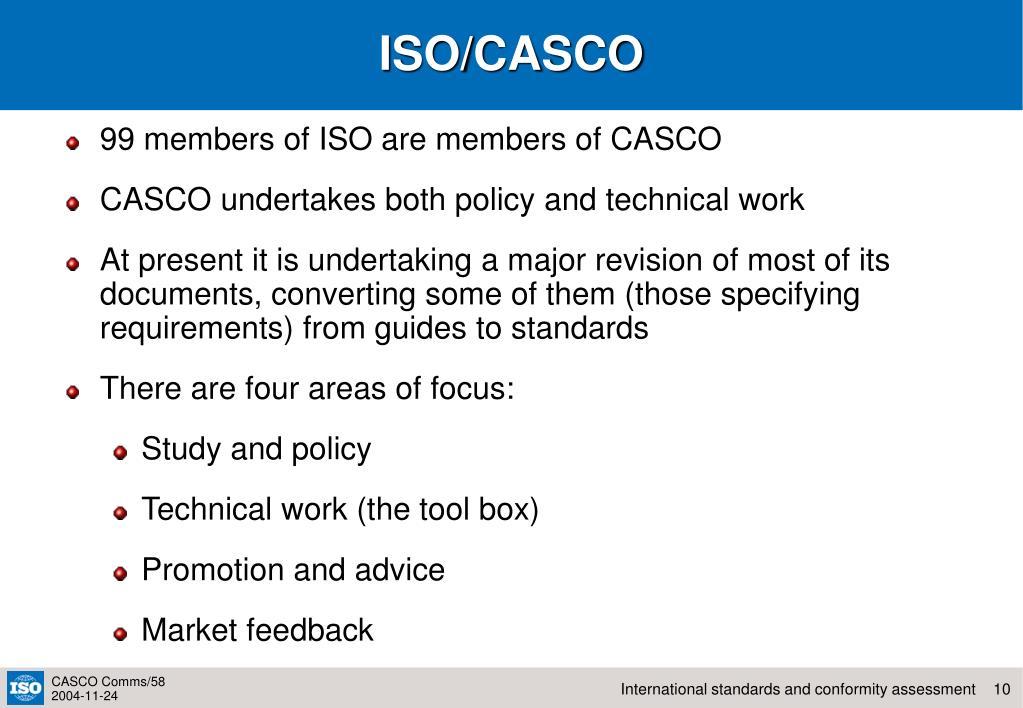 ISO/CASCO